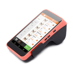 La Chine Mobile Android Portable POS borne avec imprimante Restaurant de la machine de caisses enregistreuses