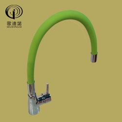 Con cuerpo de latón el Zinc manejar Cocina Mezclador OP35-Luz verde