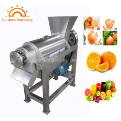 Juicer freddo lento arancione della pressa del melograno della pera del limone dell'azienda di trasformazione di alimento