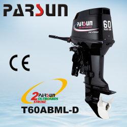 T60ABML-D, 60HP 2-moteur hors bord de mer en bateau de course