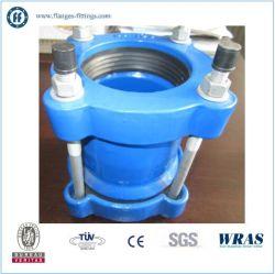 La fonte ductile d'attelage pour tuyau de HDPE