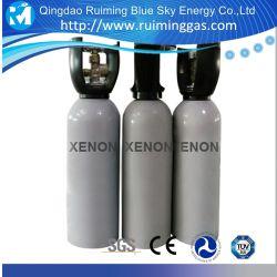 Pureté à 99,999 % de remplissage de gaz xénon dans 2L cylindre de gaz au xénon