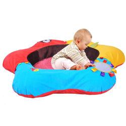مقعد سباحة فاخر مخصص للأطفال لعبة قابلة للنفخ مصنوعة من نسيج البلش