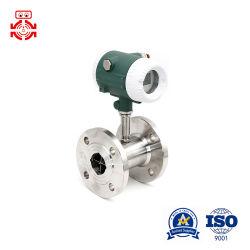 Débitmètre à turbine liquides utilisés sur la métallurgie, approvisionnement en eau, de papier et d'autres industries