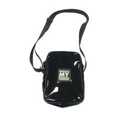 Waterdichte Outdoor Shoulder Black Mini Tote Sling Bag Port