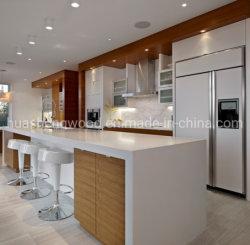 Mobiliário de painel Manufacturere PVC Porta de membrana MFC Cozinha do gabinete