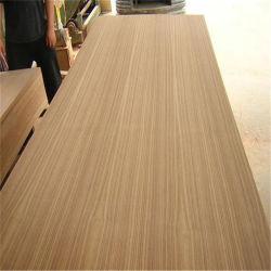Folheado de recon Gurjan/Keruing/Sapele/Vermelho/Carvalho folheado de madeira de nogueira de mercado da Índia