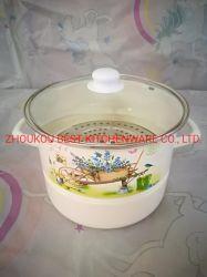 Enamelware Pot, esmalte, el vaporizador, Enamelware de alta calidad a la Cazuela el esmalte de porcelana de la Olla, Olla, olla de porcelana, menaje de cocina, esmalte utensilios de cocina, el vaporizador Set