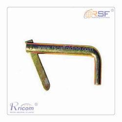Basculer en zinc plaqué Pin pour l'échafaudage de châssis