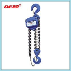 Ce matériel de levage approuvé 2t Manuel bloc / de la chaîne d'un palan avec crochet