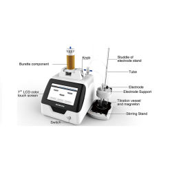 Unità potenziale automatica di titolazione del laboratorio di Titrator con alta esattezza di analisi