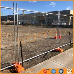 2.1*2.4M Soudure de galvanisation de gros Standard Wire Mesh panneau clôture temporaire