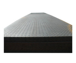 Non-Slip Floor Carbon Steel Chequered Plate for Construction