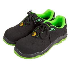 Microfiber lederne Oberleder ESD-Sicherheits-Fußbekleidung-Sicherheits-Arbeits-Schuhe mit PU-Einspritzung-Sohle