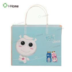 Оптовая торговля Custom Clear ПВХ женская сумка с ручкой