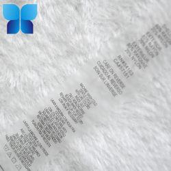 Vestuário etiqueta impressa em PVC transparente