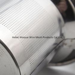 Metal perforado de acero inoxidable Filtro de malla de grabado químico