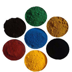1332-37-2 CAS No. Red Powder Black Yellow Green Blue Brown Orange Powder Iron Oxide