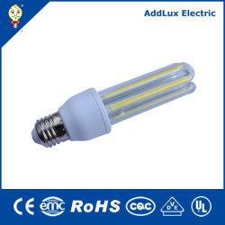 CE UL Saso B22 E27 COB 8W 12W 3U LED 에너지 절약 램프, 중국에서 생용으로 제작, 키첸, 베드룸, Best Supplier Factory의 식당 조명