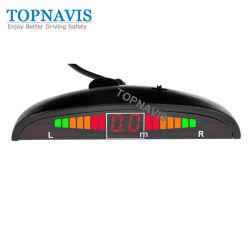 Sensore automatico di parcheggio del sussidio di vista frontale con la visualizzazione di LED