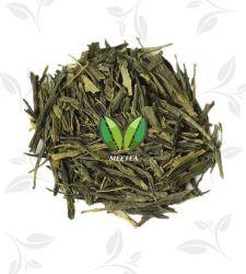 新しい好みによってSenchaの蒸気を発する緑の緑茶