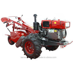 Gn (GongNong) type Gn-20L 20timon d'alimentation hautes performances HP / Deux Roues / Marche du Tracteur Tracteur Tracteur / Main / mini tracteur