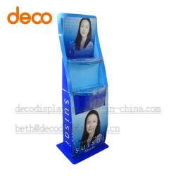 Papier-Display-Regal Karton Einzelhandels-Display-Rack für Supermarkt