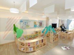 As crianças da creche mobiliário em madeira, mobiliário de crianças em sala de aula da escola, Creche e mobiliário escolar, reservar o mobiliário, Berçário mobiliário para bebé