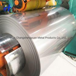 Materiale da costruzione Cr laminato a freddo/laminato a caldo 201 304 316 316L 310S 430 409 2205 321 410 420 904L striscia in acciaio inox con superficie 2b Ba N. 4 HL
