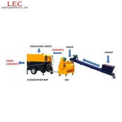 Kanalisation und Abflüsse Füllung Schaum Beton Block Maschine