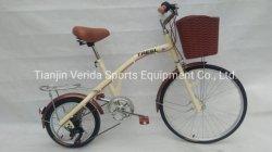16/24*12cm de acero de la velocidad de 6Dama bicicleta