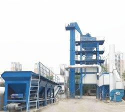 Tambor móveis fábrica de produção de misturas betuminosas, planta de asfalto contínua móvel e móvel Planta de asfalto em lote