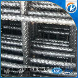 중국 공급자는 냉각 압연한 강철 Rebar에 의하여 용접된 철사 직물 철망판을 강화한다