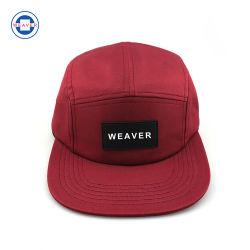 方法5パネルのキャンピングカーの帽子のヒップホップの帽子が付いている快適な野球帽