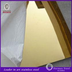 La couleur en acier inoxydable pour panneau de paroi décorative 201 304
