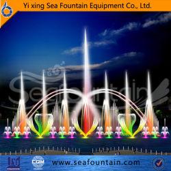 Fonteinen van het Water van de Muziek van de Kleur van de Tuin van de Fabrikant van China de Grote Moderne Openlucht Veranderende