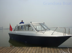 18seats Fiberglass Coastal Sea/River Passenger/Ferry Boat Te Koop