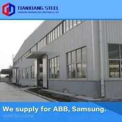 S355jr Prefab Pré modular concebido construções metálicas da estrutura de aço do depósito da estrutura do prédio de construção (exportado 160, 000MT)