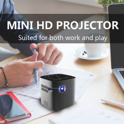 """1080p HD Mini projecteur WiFi W/ Touch Control 30~120 mobile """" Grand écran vidéo"""