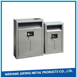 Стальной Водонепроницаемый для использования вне помещений для настенного монтажа почтового ящика