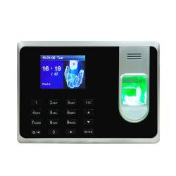 Ce pulgar impresión de la asistencia de la máquina, Sistema de Gestión de la asistencia de huellas dactilares de los empleados (T8)