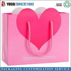 210g carton blanc Rose Sac sac d'emballage cadeau