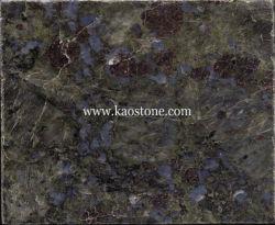 Carreaux de granit poli Bleu papillon/dalles