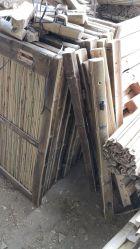 Handwerks-Produkt-natürliche Farben-Bambuszaun-/Bambushecke