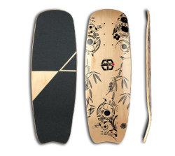7 Dek van het Skateboard van Longboard van de Esdoorn van de vouw het Volledige Canadese (BR-73)
