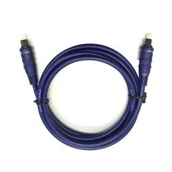 Toslink Stecker-optisches Kabel für Audio