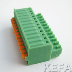 Klemmenleiste-steckbarer Typ RoHS Schaltkarte-Screwless