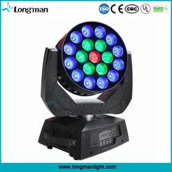 Super Bright 19X15W RGBW Zoom tête de déplacement du faisceau de lumière à LED