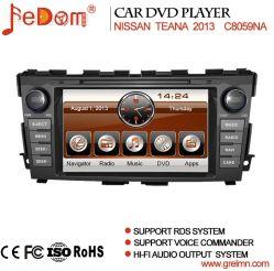 نظام الملاحة GPS الخاص بنظام تحديد المواقع العالمي (GPS) لأقراص DVD للسيارة بشاشة تعمل باللمس قياس 8 بوصات نيسان تيانا 2013 مع Bluetooth والراديو وشاشة USB/SD (C8059NA)