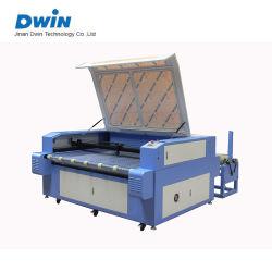 Láser de CO2 automático de tejido de rodillo Máquina de corte textil Precio